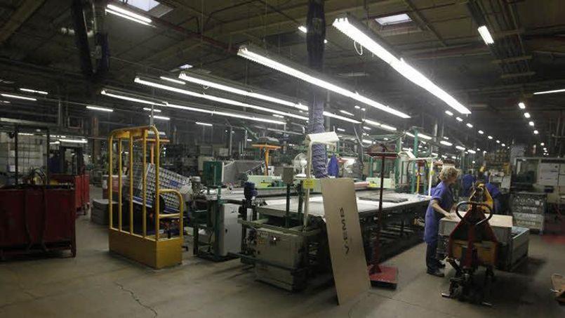 La production manufacturière a stagné en janvier. (Crédit: Le Figaro)