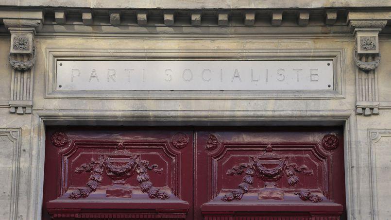 Le siège du Parti socialiste à Paris, rue Solférino.