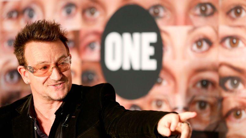 ONE a été cofondée en 2004 par le leader du groupe de rock U2 pour lutter contre la pauvreté et la faim dans le monde, en particulier en Afrique.