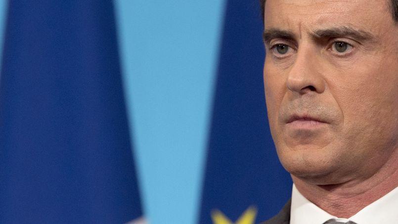 Le premier ministre Manuel Valls, le 6 mars 2015 à Paris.