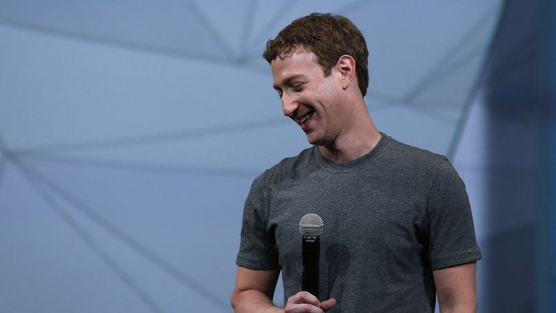 Mark Zuckerberg, PDG de Facebook.