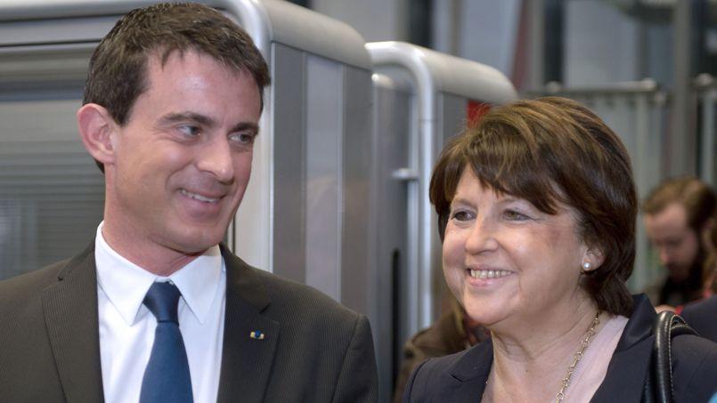 À Lille, Manuel Valls et Martine Aubry ont voulu afficher une image d'unité