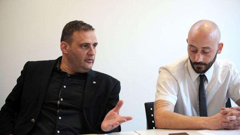 Yvan Benedetti et Christophe Chagnon.