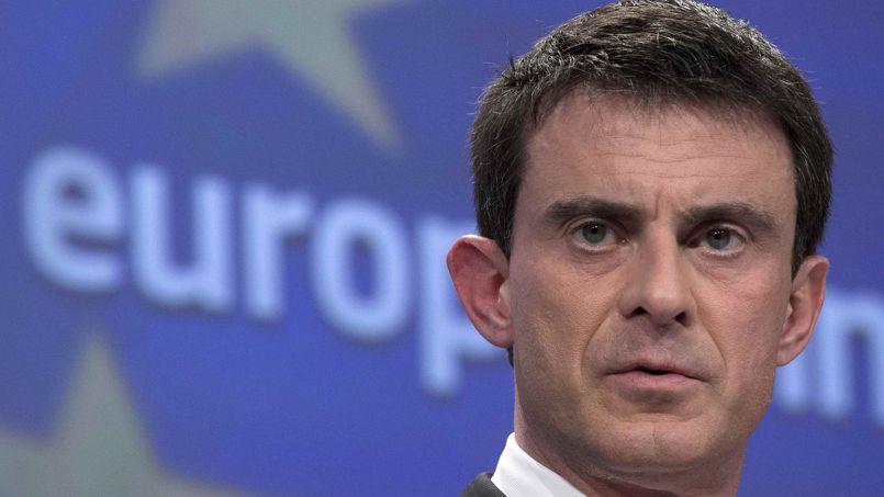 Manuel Valls, mercredi, à Bruxelles.