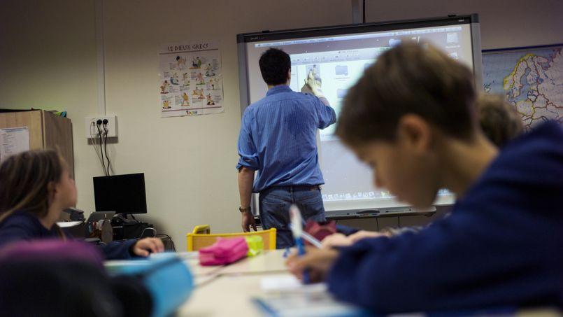 Stéphane Furina, professeur d'anglais dans un établissement scolaire du Nord, dénonce dans son livre la «petite poignée» de professeurs qui seraient selon lui incompétents, méprisants et «casseraient les élèves».  (Photo d'illustration)