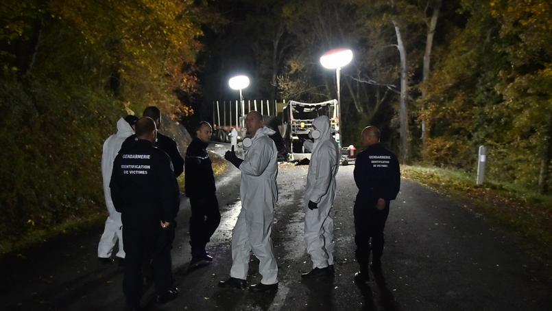 Gironde: l'identification des corps prendra