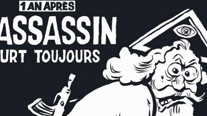 Charlie Hebdo: la une du numéro spécial en vente mercredi