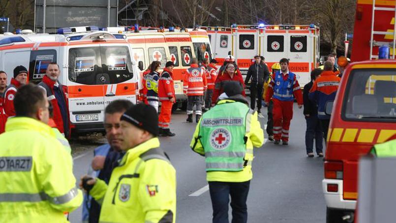 Accident de train en Allemagne : neufs morts et une centaine de blessés