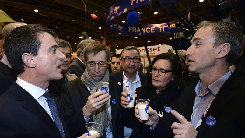 Valls accueilli dans le calme au Salon de l'agriculture