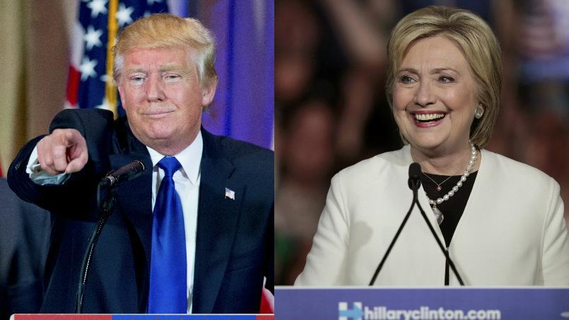 Trump et Clinton, grands vainqueurs du «Super Tuesday»