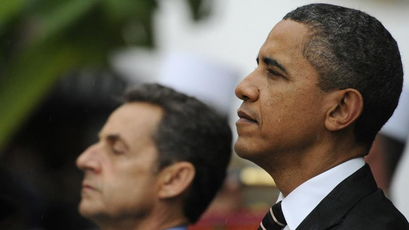 Barack Obama avec Nicolas Sarkozy, en 2011