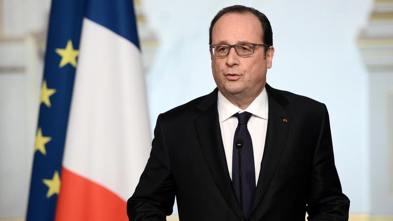 François Hollande, mercredi 30 mars 2016