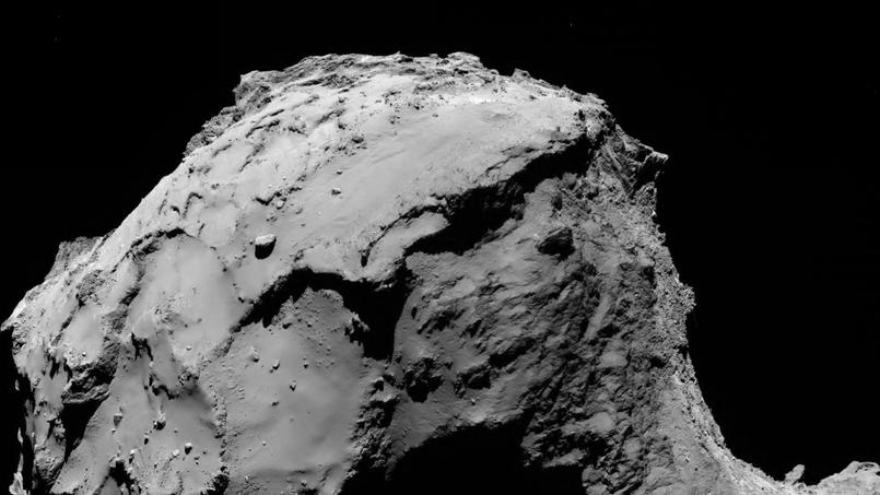 crash sonde rosetta