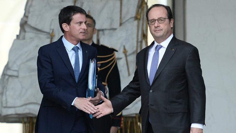 Manuel Valls et François Hollande.