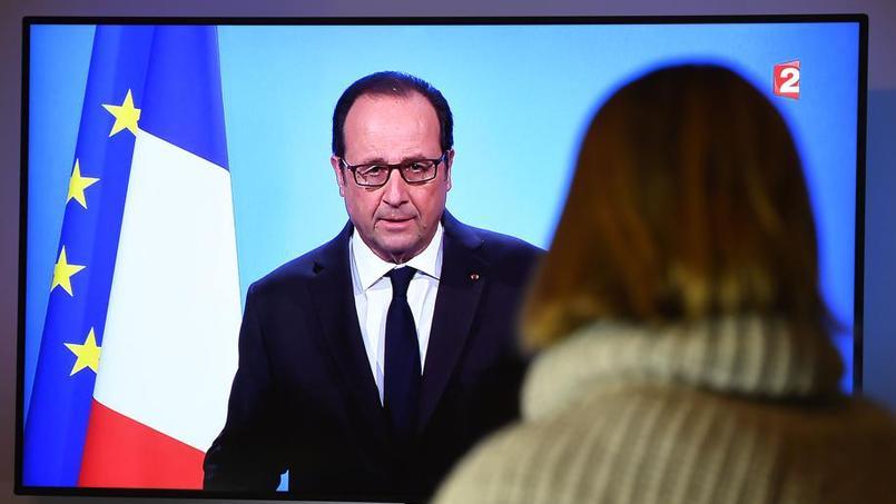 Présidentielle: 82% des Français approuvent le retrait de François Hollande