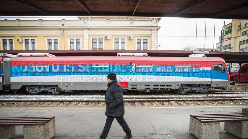 Le train serbe qui ravive les tensions avec le Kosovo