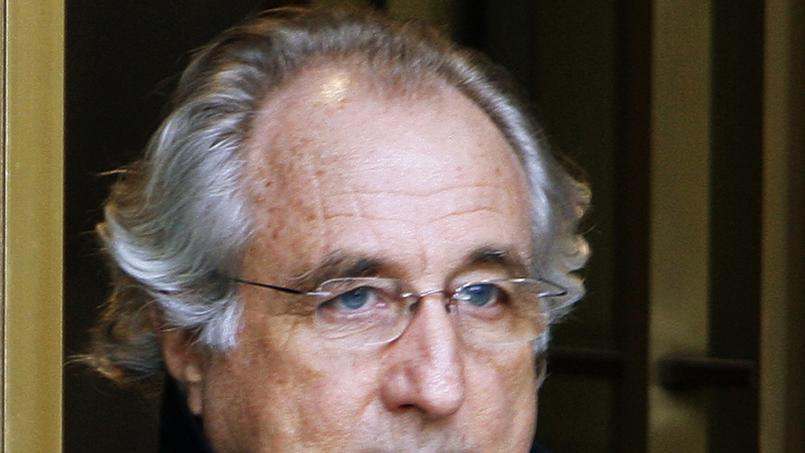 En prison, l'escroc Madoff