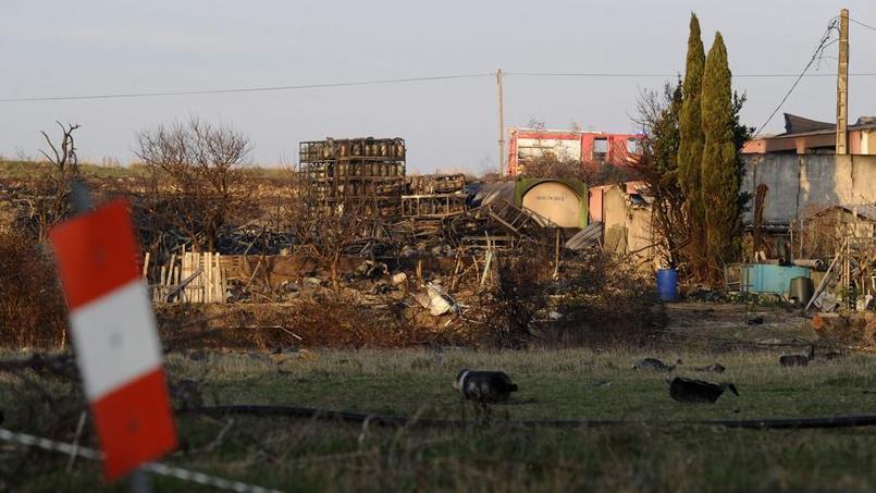 Explosion de 2.000 bouteilles de gaz dans le Vaucluse