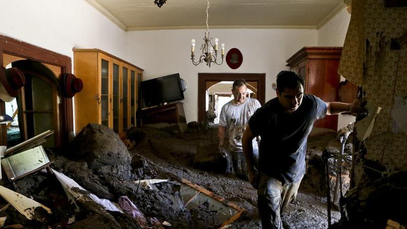 Chili: 1,4 million de foyers privés d'eau