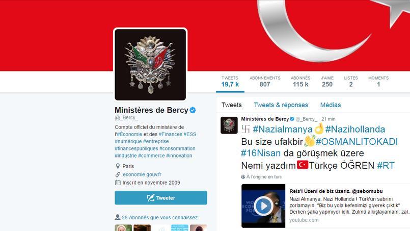 France : vaste opération de piratage sur Twitter
