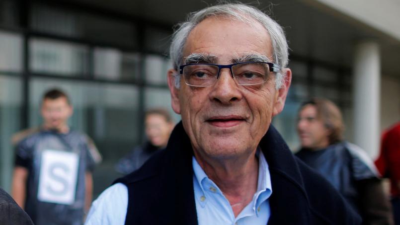 L'ex-ministre et président PS de l'Assemblée nationale Henri Emmanuelli.