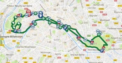 Marathon: des dizaines de milliers de coureurs dans les rues de Paris