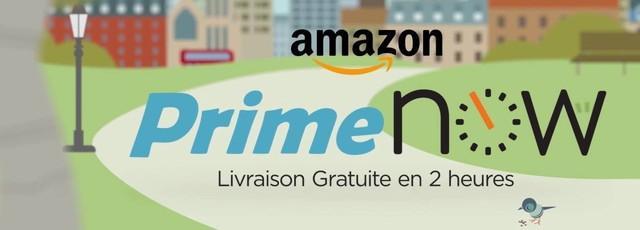 Amazon vous propose en exclusivité un code promo valable sur Prime Now !