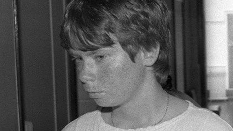 Muriel Bolle au palais de Justice de Dijon, le 30 juin 1986.