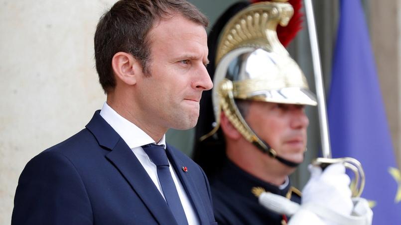 Emmanuel Macron, mercredi, à Paris.