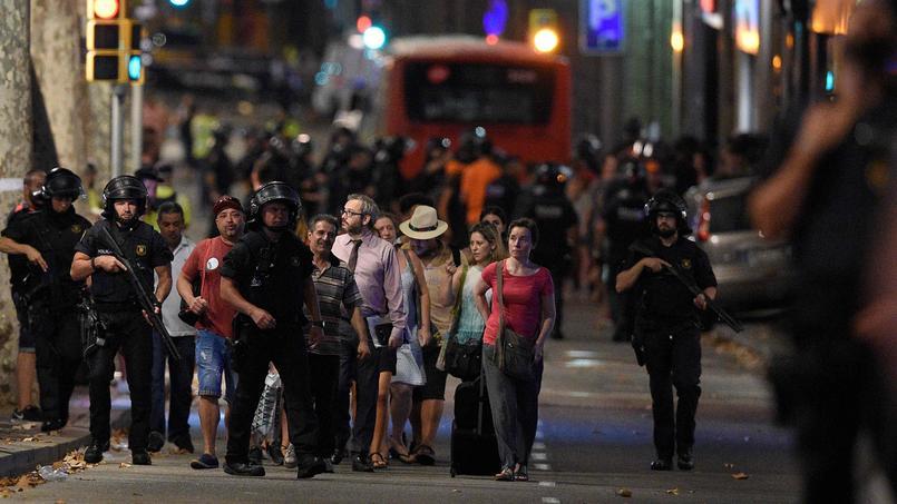 Attentats terroristes à Barcelone : 13 morts et plus de 100 blessés