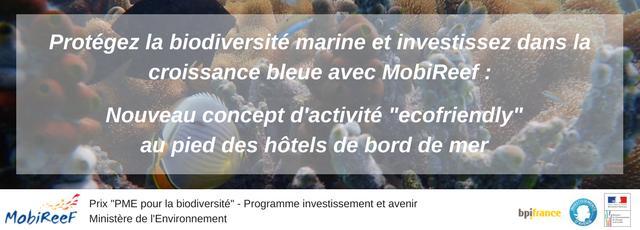MOBIREEF® - Investissez dans la croissance bleue !