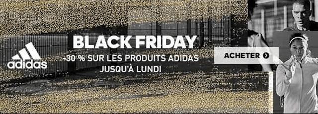 L'univers du sport au meilleur prix avec le code promo ADIDAS spécial Black Friday