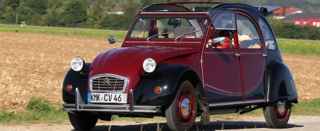 Pourquoi nous sommes tous amoureux de la Citroën 2CV