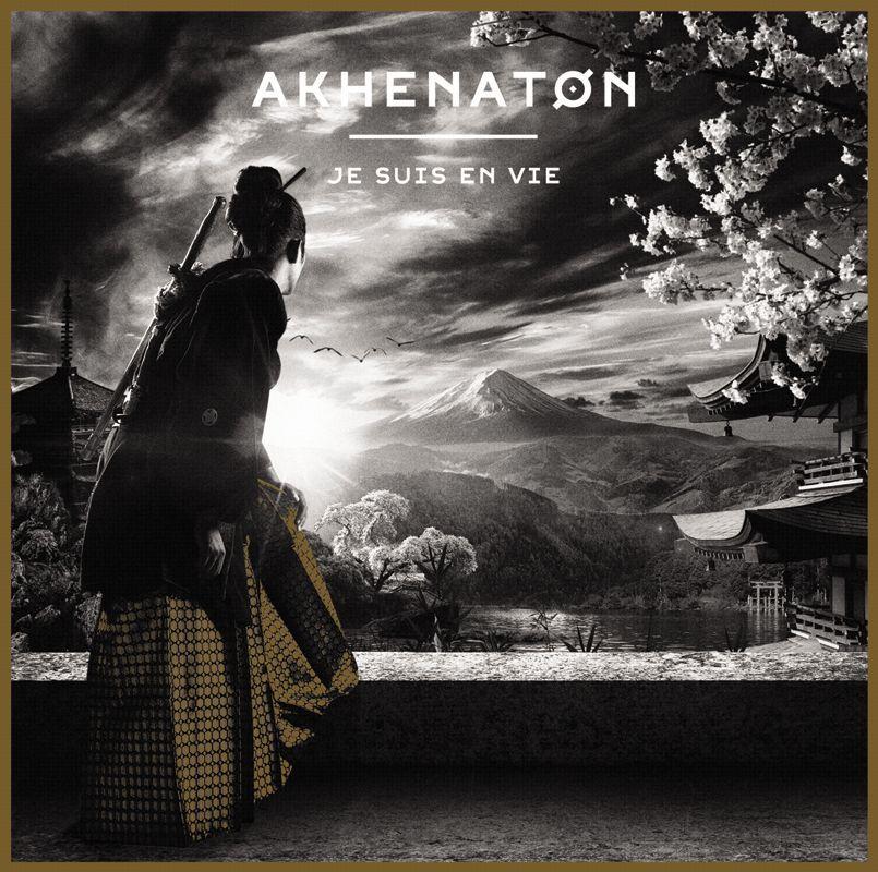 Pochette du cinquième album solo d'Akhenaton, Je suis en vie.
