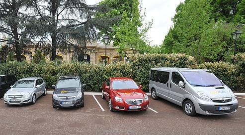 Opel propose ses bouquets automobiles