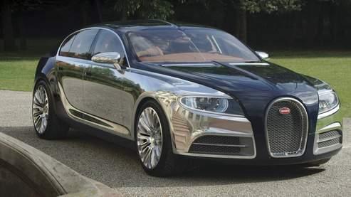 Bugatti se met en quatre avec la Galibier