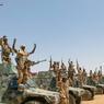 Une colonne des Fatim (Forces armées tchadiennes en itervention au Mali), quelque part entre Kidal et Tessalit. Ces hommes ont joué un rôle clé dans la guerre contre Aqmi.