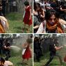 Deux jours plus tôt, le 28 mai, Ceyda Sungur la «fille en rouge» devenait, malgré elle, le symbole de la contestation des femmes contre le gouvernement turc.