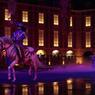 Scène innondée du theatre couvert ou se joue Mousquetaire de Richelieu. Crédit photo: Pierre Terdjman/Cosmos pour le Figaro Magazine