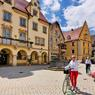La ville de Sigmaringen a été successivement capitale de la principauté de Hohenzollern-Sigmaringen, puis de la province de Hohenzollern.