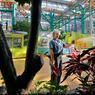 Paulette Black, chargée des espaces verts, veille sur plus de 300 plantes et 400 arbres, véritables purificateurs d'air naturel du Mall of America.