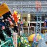 Au coeur du Mall of America se trouve un parc à thème et ses montagnes russes.