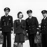 1946   Le 1er juillet, Air France inaugure sa ligne Paris-New York, avec un DC 4 qui effectue le voyage en vingt-quatre heures. Un an auparavant, le 26 juin 1945 (photo), la compagnie a été nationalisée.