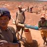 A Manonbokely les gisements de saphir sont exploités illégalement et dans des conditions inhumaines.