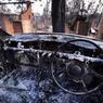 Des dizaines de feux ont été éteints, mais 63 continuaient de progresser lundi 21 octobre et 17 étaient considérés comme hors de contrôle.