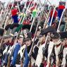 Des milliers de figurants passionnés d'histoire ont rejoué ce combat qui s'acheva par la retraite de la Grande Armée de Napoléon Bonaparte en 1813.