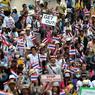 Les manifestants thaïlandais se sont engagés à maintenir leur lutte pour renverser la première ministre Yingluck Shinawatra.