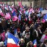 Les organisateurs ont souligné l'état d'esprit «paisible et déterminé» de ses militants.