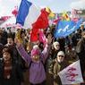 Venus en famille de tout le quart sud-est de la France, les manifestants de tous âges ont défilé dans une ambiance bon enfant dans le centre-ville de Lyon.