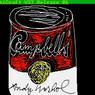 L'œuvre Campbells, 1985 a été retrouvée sur la disquette 1998.3.2129.3.22 grâce au travail de la Carnegie Mellon University. Les boîtes de soupe Campbell's sont un thème récurrent dans le travail d'Andy Warhol.